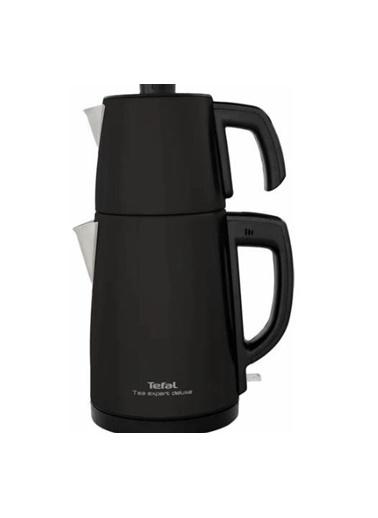 Tefal Tea Expert Deluxe Siyah 1650 W Çelik Demlikli Çay Makinesi Renkli